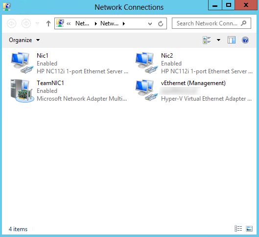 How to create NIC teams and configure networking on Microsoft