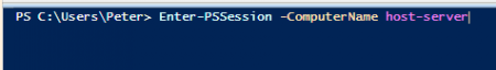 Powershell - Enter-PSSession